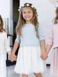 画像1: Malvi&Co.(マルヴィ)<br>チュールドレス(ペールブルー)<br>3歳4歳6歳8歳 (1)