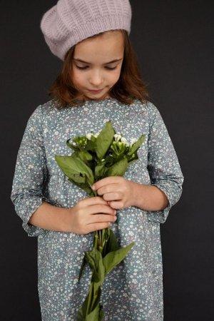 画像2: Olivier(オリビエ) VERA ベラワンピース (リバティプリント Daisy Daisyデイジーデイジー) 3歳〜10歳