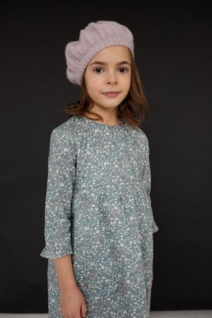 画像1: Olivier(オリビエ) VERA ベラワンピース (リバティプリント Daisy Daisyデイジーデイジー) 3歳〜6歳