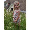 Rachel Riley(レイチェル・ライリー)Rose Cotton Jersy Dressコットンジャージドレス(ローズ) 8歳126cm