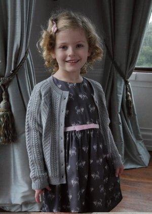画像1: Rachel Riley(レイチェル・ライリー)Cat Dressキャットドレス(半袖)6歳114cm