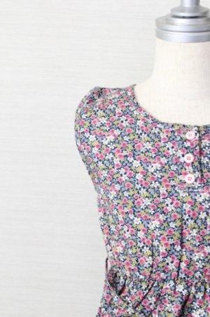 画像1: 【SALE!!30%オフ!!】 SUDO(スドー) SUMMER SYMPHONY DRESS サマーシンフォニードレス mood indigo 2歳4歳