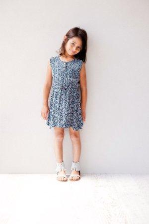 画像2: 【SALE!!30%オフ!!】 SUDO(スドー) SUMMER SYMPHONY DRESS サマーシンフォニードレス mood indigo 2歳4歳