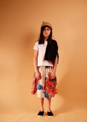 画像3: WOLF&RITA(ウルフ&リタ) ADELIA-ブラウス-(WHITE/BLACK)6歳8歳-JAPAN EXCLUSIVE-