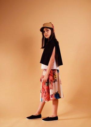 画像4: 【SALE!!30%オフ!!】 WOLF&RITA(ウルフ&リタ) ADELIA-ブラウス-(WHITE/BLACK)6歳116cm-JAPAN EXCLUSIVE-