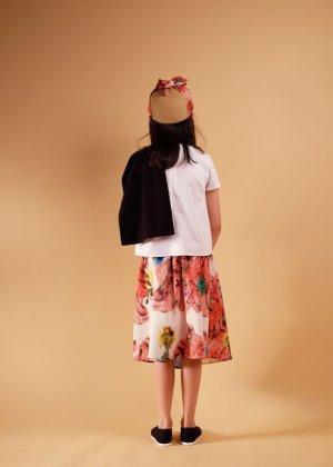 画像5: 【SALE!!30%オフ!!】 WOLF&RITA(ウルフ&リタ) ADELIA-ブラウス-(WHITE/BLACK)6歳116cm-JAPAN EXCLUSIVE-