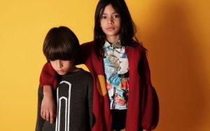 画像3: WOLF&RITA(ウルフ&リタ) JOAQUINA-ロングカーディガン-(RED)4歳6歳