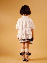 【SALE!!30%オフ!!】 WOLF&RITA(ウルフ&リタ) DINA-ブラウス-(WHITE)4歳8歳