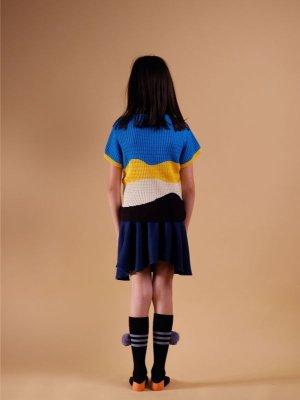 画像2: 【SALE!!30%オフ!!】 WOLF&RITA(ウルフ&リタ) VIRGINIA -サマーニット-(BLUE)4歳6歳