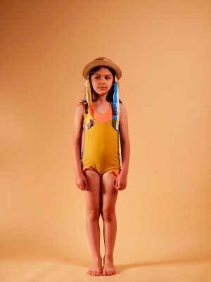 画像1: 【SALE!!30%オフ!!】 WOLF&RITA(ウルフ&リタ) IRIS -スイムスーツ-(MULTICOLOR)2歳4歳6歳