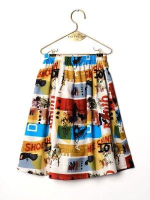 画像1: 【SALE!!30%オフ!!】 WOLF&RITA(ウルフ&リタ) LURDES -スカート-(MISTER W)4歳104cm