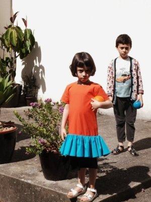 画像2: 【SALE!!30%オフ!!】 WOLF&RITA(ウルフ&リタ) SANDRA-チュニック-(RED/ BLUE)2歳4歳6歳