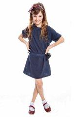 [SALE]WOOLRICH(ウールリッチ) Girl Sunday Dress コサージュ付きワンピース2歳4歳6歳