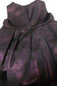 画像2: SIMONETTA MINI(シモネッタミニ)ラメ入りドレス(ボルドー) 2歳92cm (2)