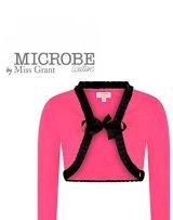 MICROBE by Miss Grant(マイクローブ バイ ミスグラント) ピンクボレロ 7歳122cm