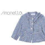 一点限り!!SIMONETTA(シモネッタ) コットンツイードジャケット 6歳122cm