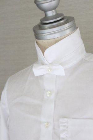 画像3: 【SALE!!】SIMONETTA(シモネッタ) 長袖ブラウス(ホワイト)  5歳115cm