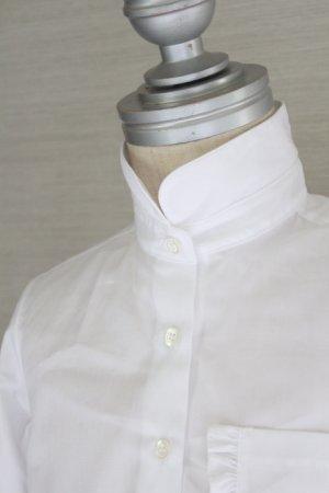 画像4: 【SALE!!】SIMONETTA(シモネッタ) 長袖ブラウス(ホワイト)  5歳115cm