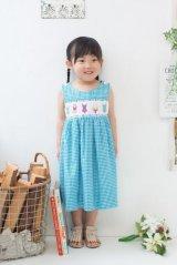 カラフル水着のスモッキングワンピース 1歳〜5歳