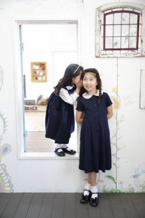 画像3: 【SALE!!20%OFF!!】 【JiJiオリジナル】着心地の良い、前ボタンフォーマルワンピース 3歳〜7歳