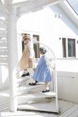 画像3: 【JiJiオリジナル】 プリンセスラインワンピース/ジャンパスカート(ベージュドット) 2歳〜8歳