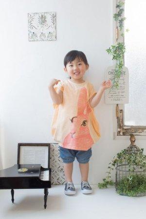 画像1: Soft Gallery(ソフトギャラリー)AYDRY DRESS手刺繍うさぎチュニック(ピンク)3歳4歳5歳